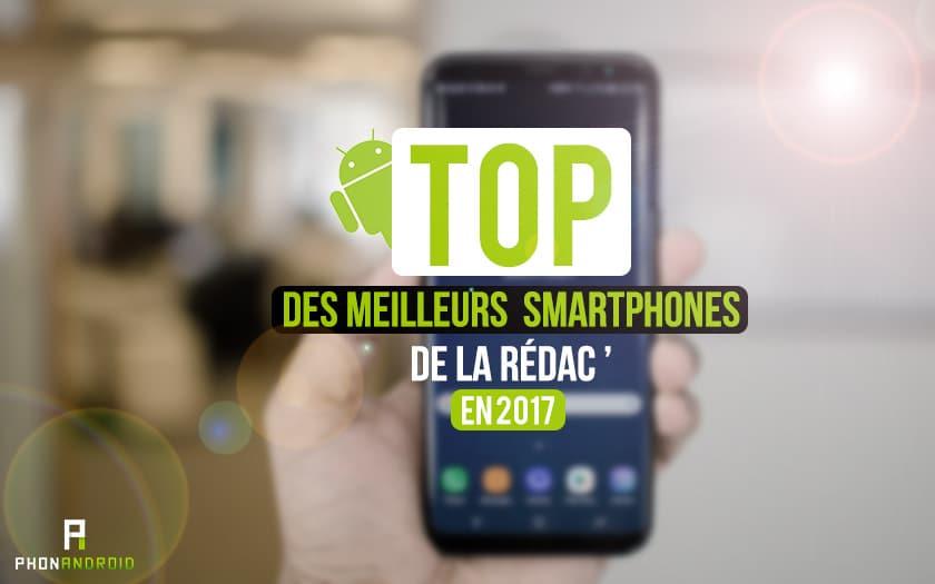 top smartphones redac 2017