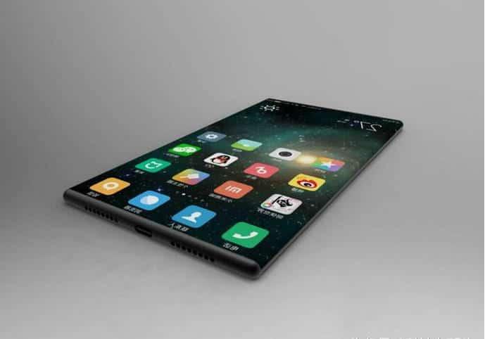 Xiaomi Mi Mix 2 rendu