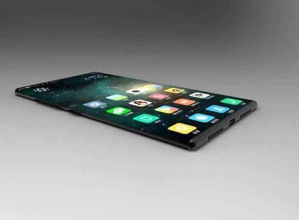 Xiaomi Mi Mix 2 tranche