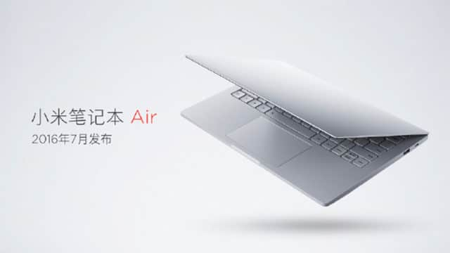 xiaomi mi notebook air 4g fiche technique