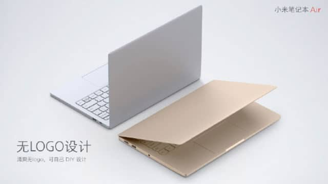 xiaomi mi notebook air logo