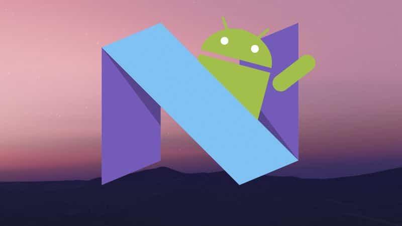 Android 7 0 nougat un taux d 39 adoption toujours inf rieur - Nougat wallpaper 4k ...