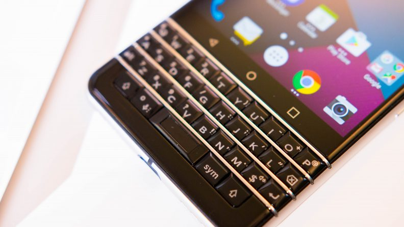 BlackBerry DTEK 70 clavier