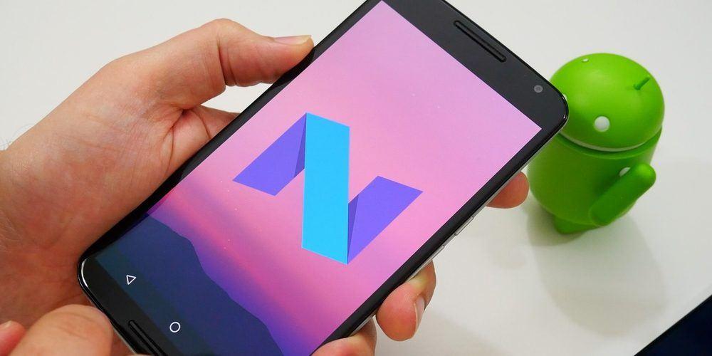 android nougat nexus 6