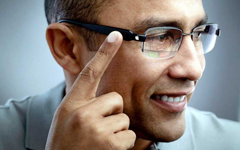 Apple lunettes connectées