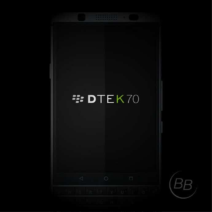 blackberry dtek 70 press render