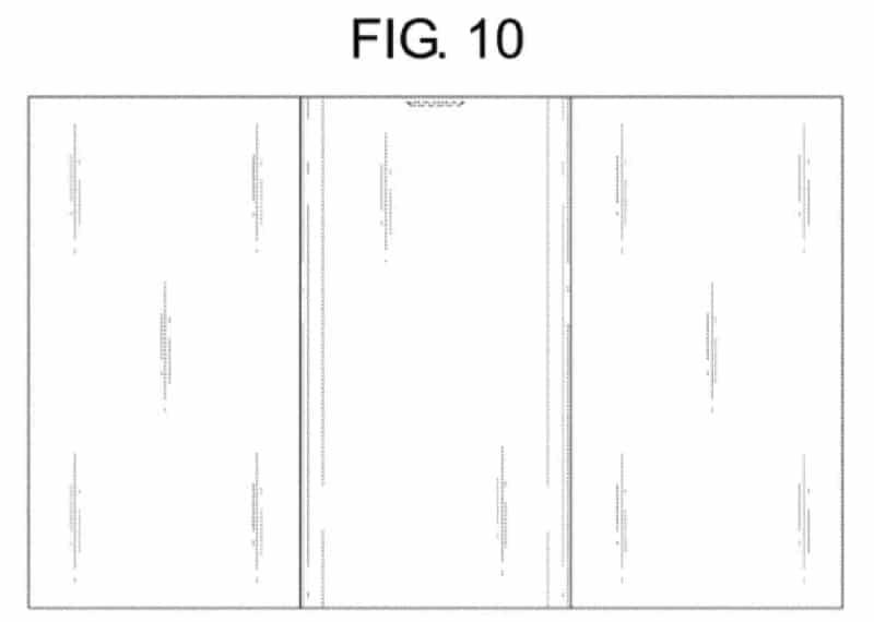 brevet lg pliant smartphone