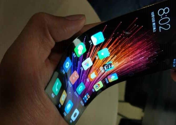 brevet xiaomi smartphone pliant