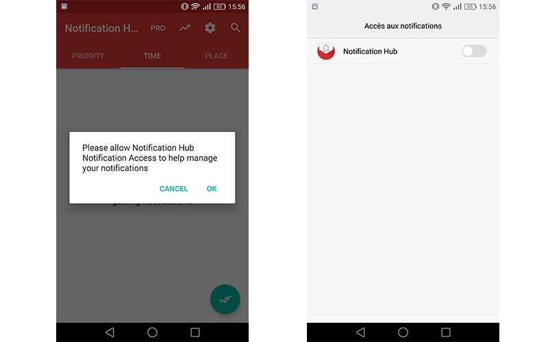 Android comment centraliser les notifications pour - Comment garder une vitre d insert propre ...