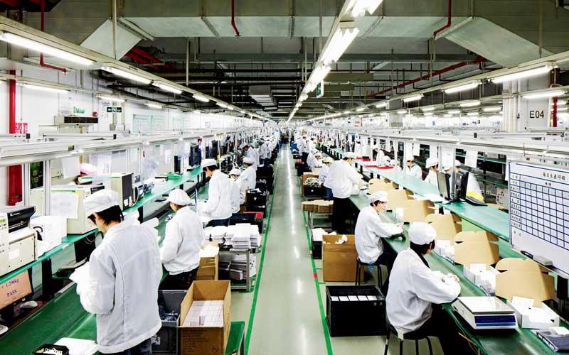 employés de Foxconn