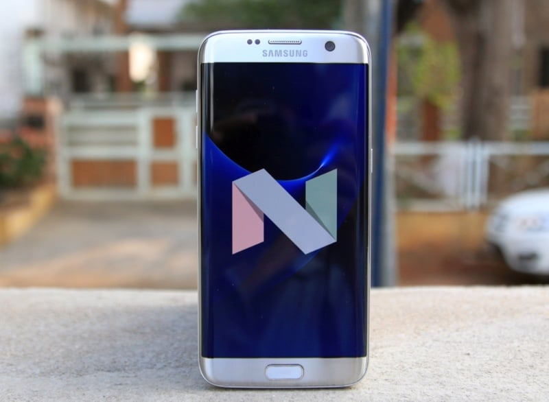 galaxy S7 android nougat