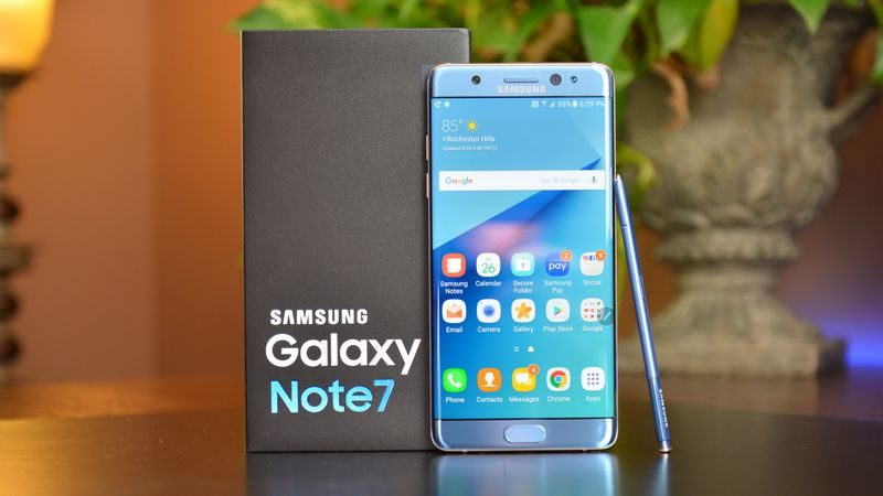 galaxy note 7 reconditionne