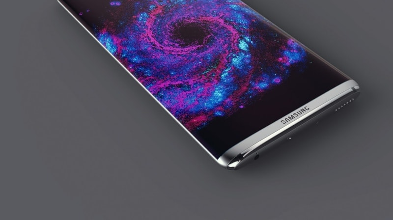 galaxy s8 ecran borderless