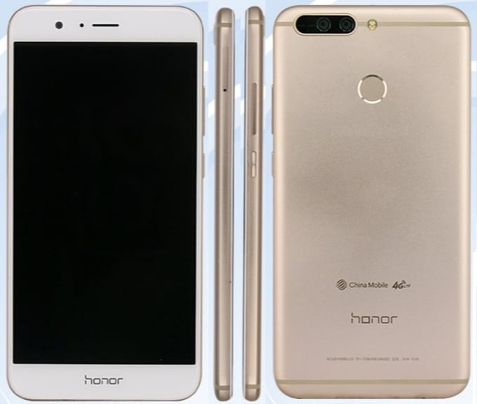 Honor V9 design