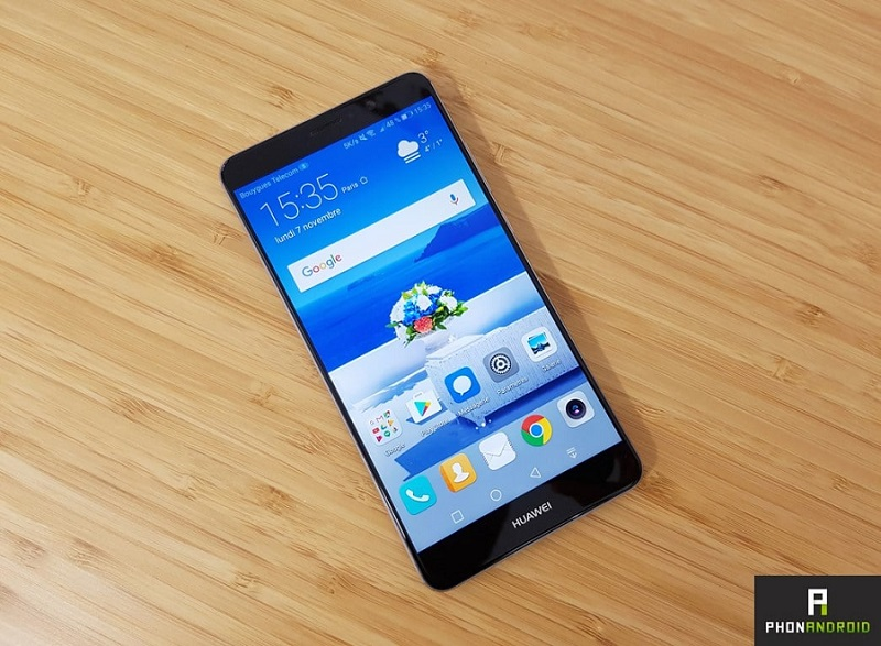 huawei mate 9 smartphone borderless