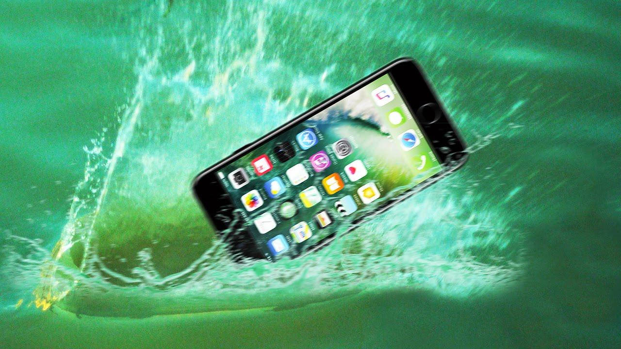 iphone 7 plus eau glacee