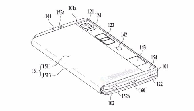 lg smartphone pliable