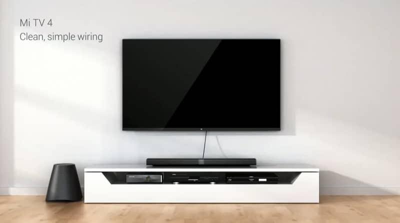 mi tv 4 cable