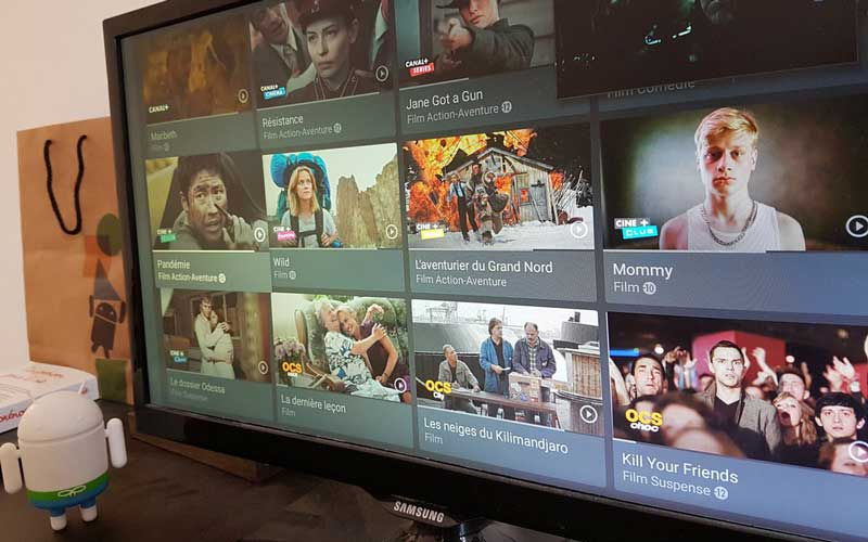 myCanal sur Android TV