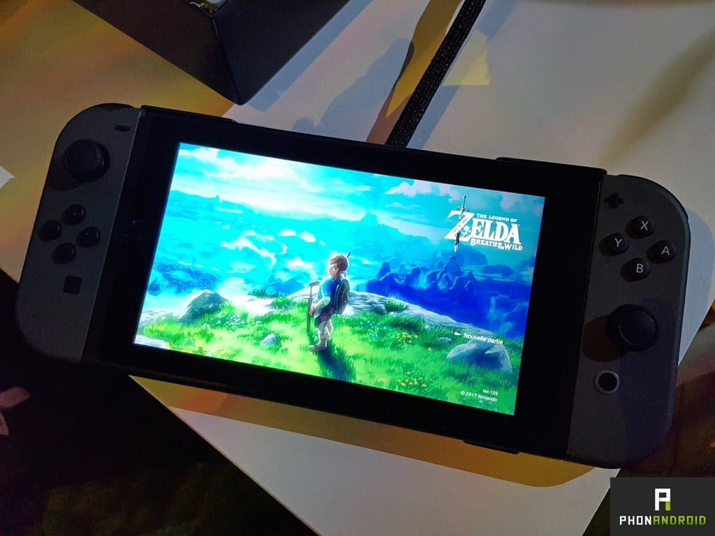 nintendo switch prise en main