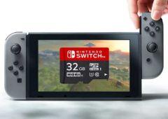 nintendo switch prix carte micro sd