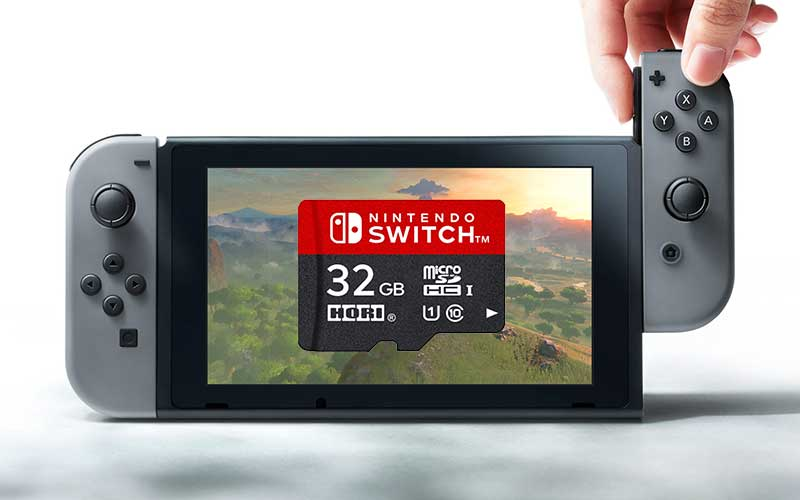 Nintendo Switch carte SD