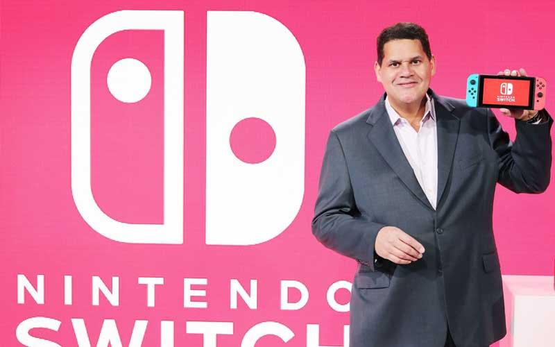 Nintendo Switch Reggie Fils Aime