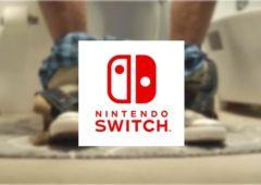 nintendo switch toilettes