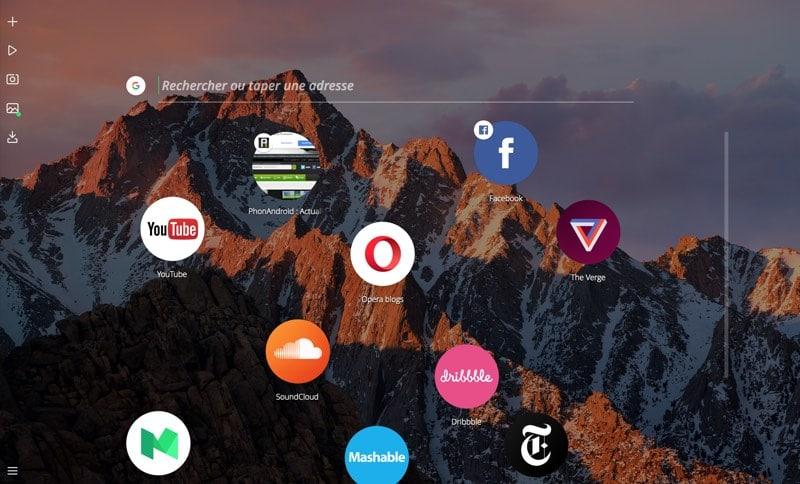 Opera Neon : arrêtez tout, voici le navigateur web du futur !