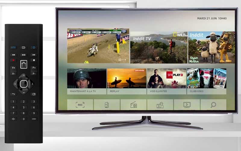 Décodeur TV SFR Fibre