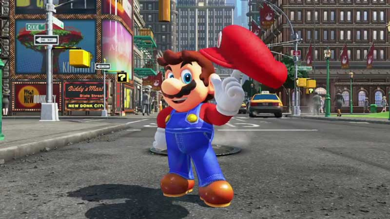 Mario Odyssey Switch trailer sortie