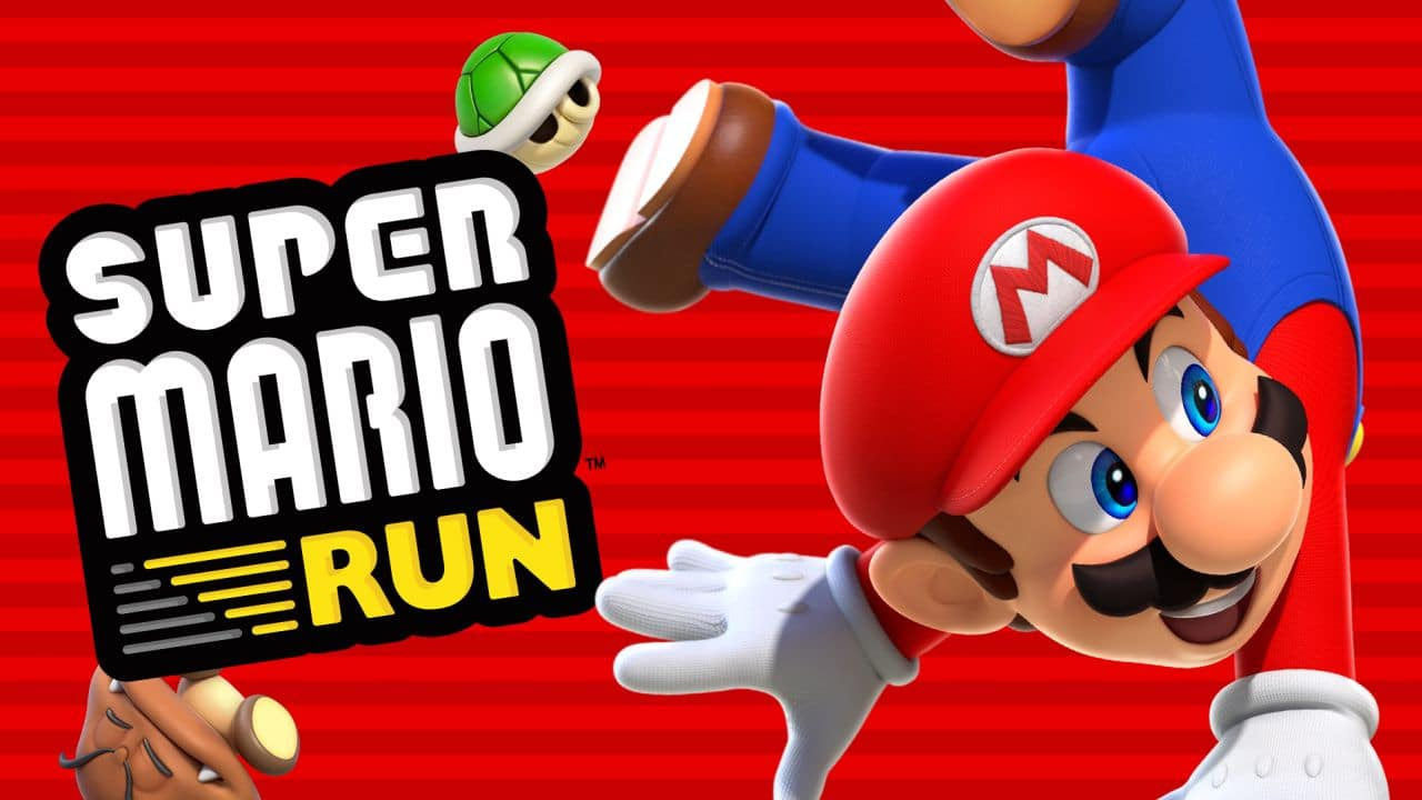super mario run chiffres apple dement