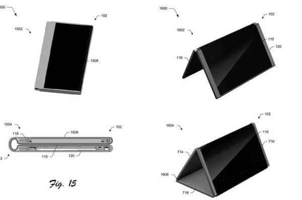 surface phone brevet