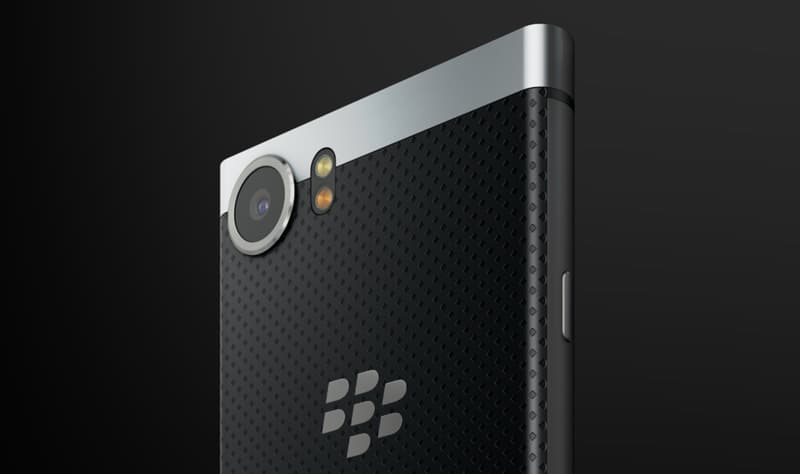 blackberry keyone appareil photo