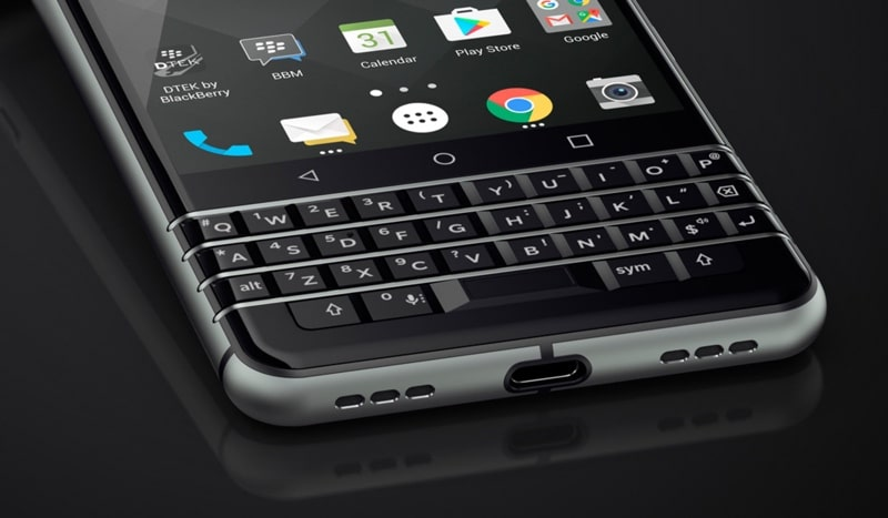 blackberry keyone clavier