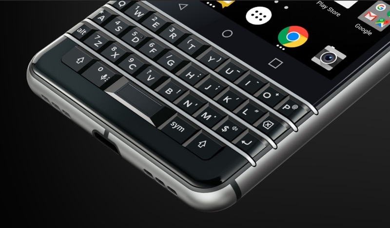 blackberry keyone batterie autonomie tendances