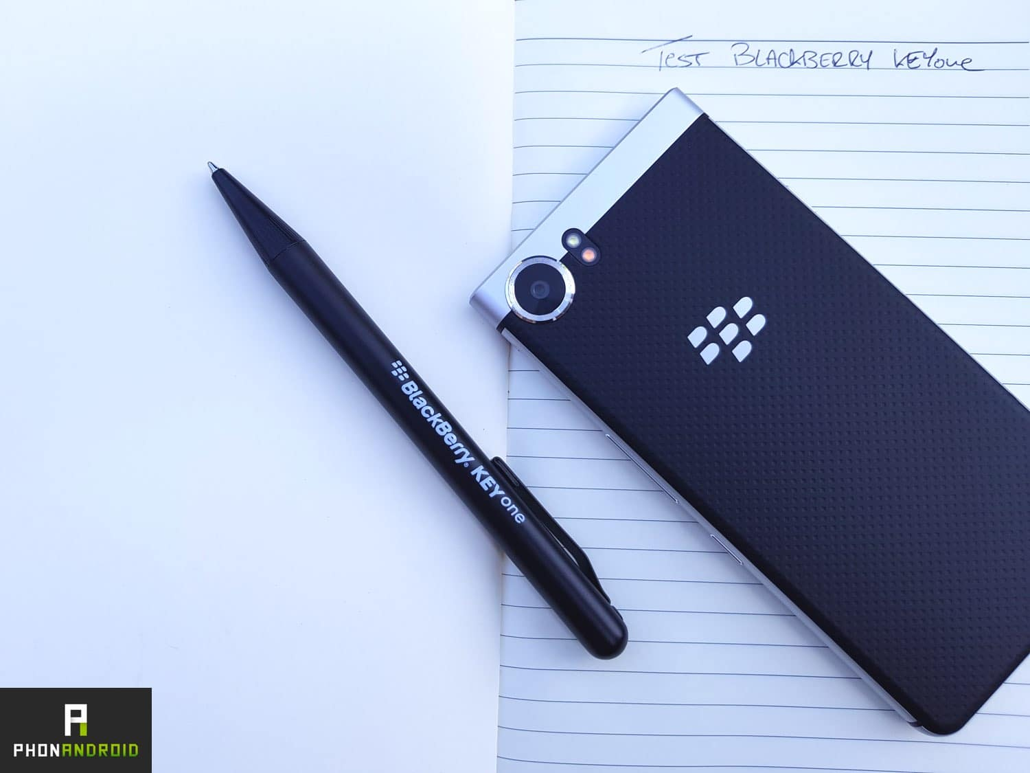 test blackberry keyone prix