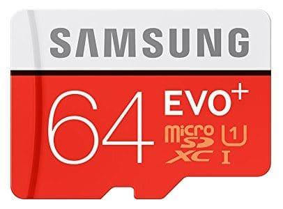 Carte mémoire Samsung Evo Plus