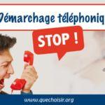 demarchage telephonique petition