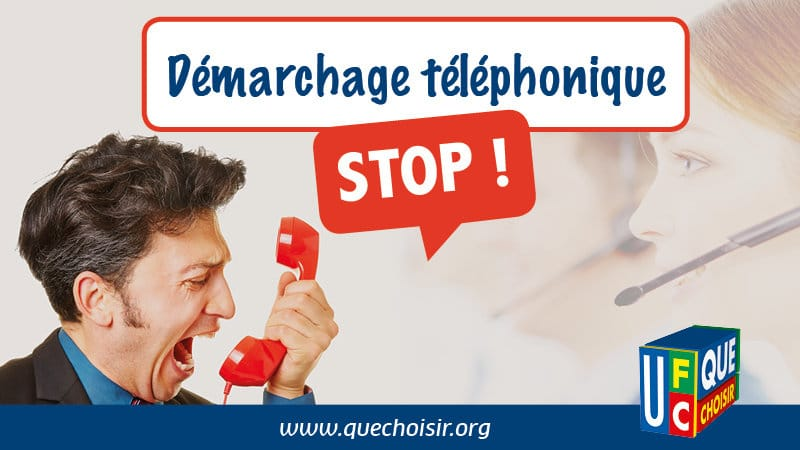 demarchage telephonique petition