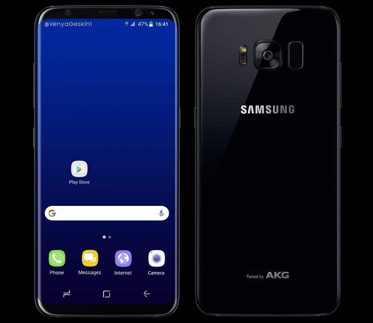 galaxy s8 design