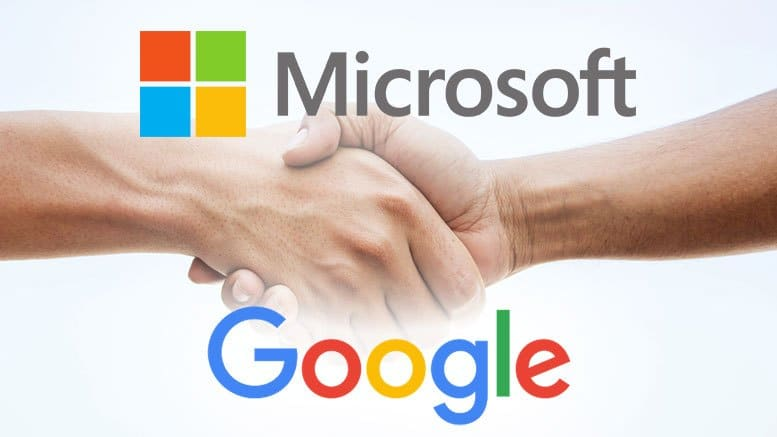google microsoft pirates