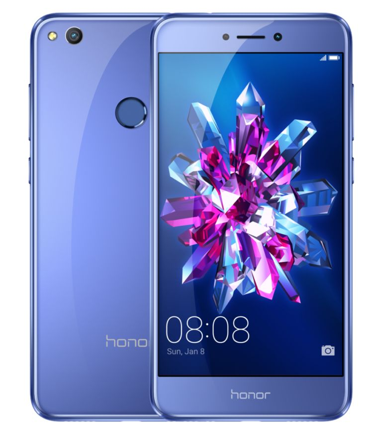 honor 8 lite bleu