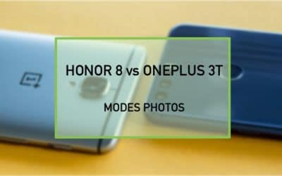 honor 8 oneplus 3t modes photo