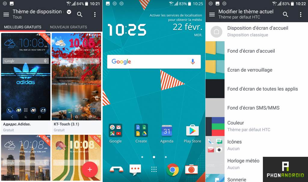 htc u play themes