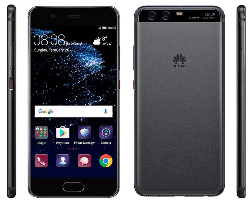 Huawei P10 rendus