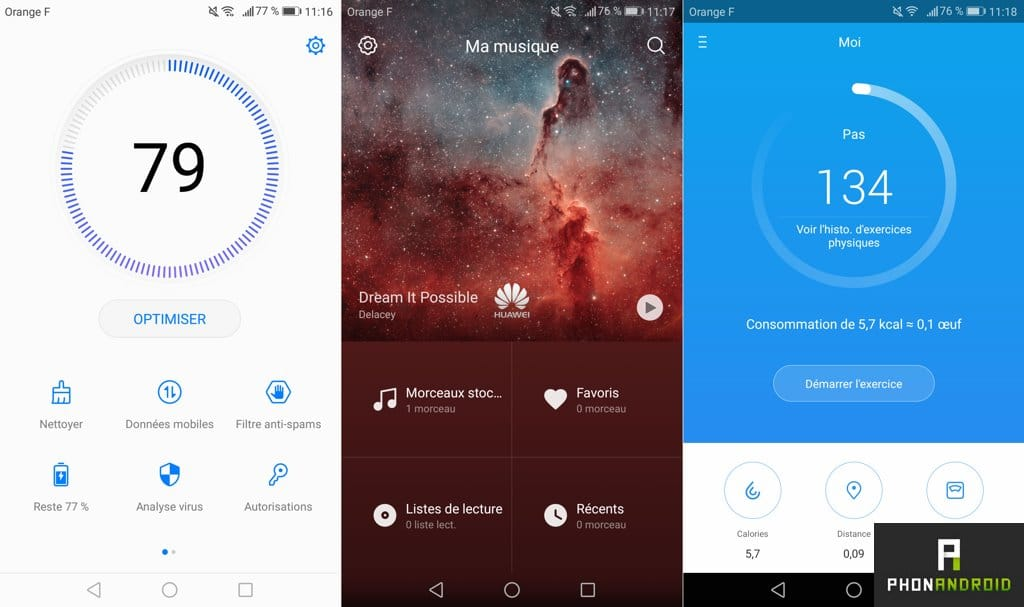 huawei p8 lite 2018 applications