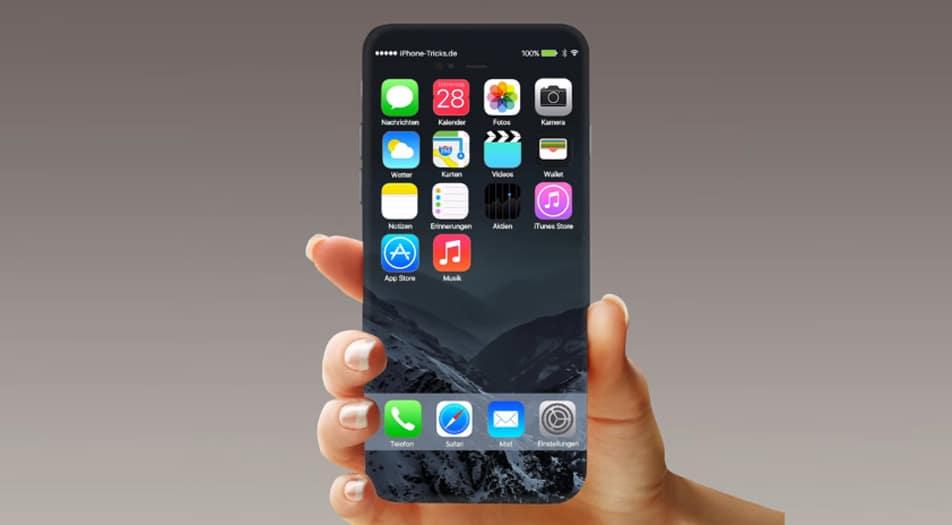 iphone 8 lecteur empreintes