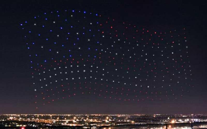 Lady Gaga Super Bowl Drones