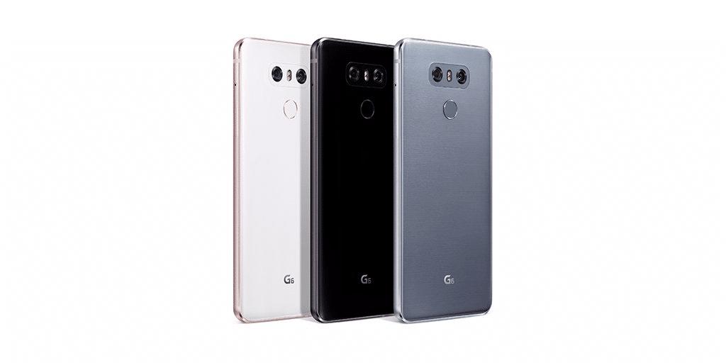 lg g6 coloris
